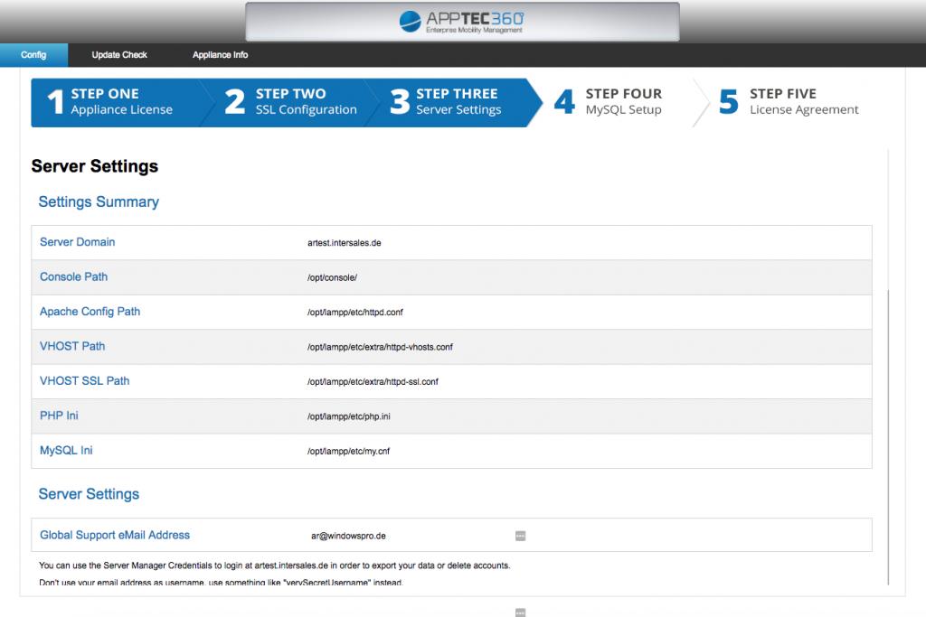 EMM AppTec Setup